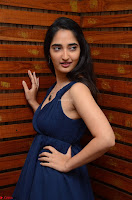 Radhika Mehrotra in a Deep neck Sleeveless Blue Dress at Mirchi Music Awards South 2017 ~  Exclusive Celebrities Galleries 024.jpg