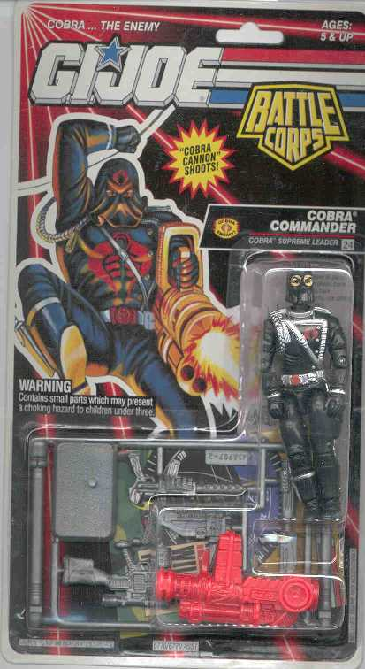 1993 Cobra Commander, Carded,