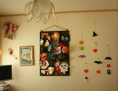 手作りハロウィン飾り