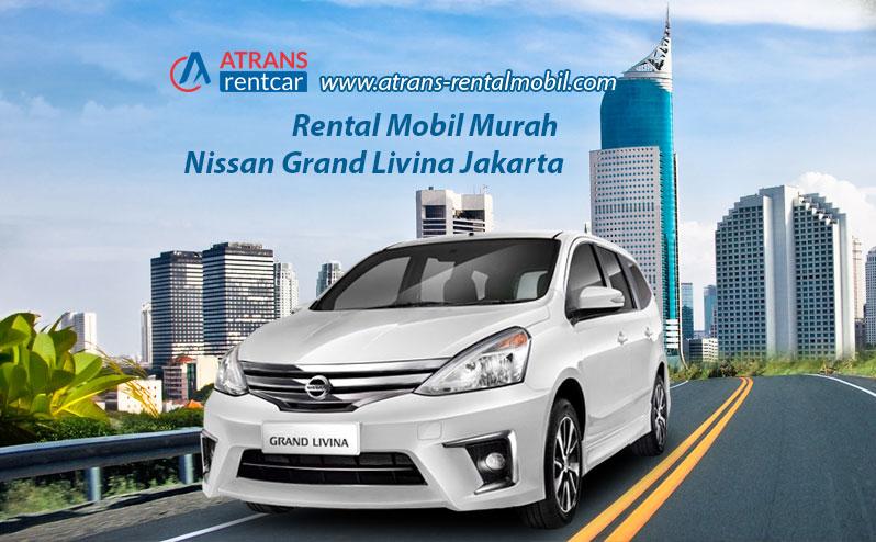 Rental Mobil Murah Nissan Grand Livina Jakarta