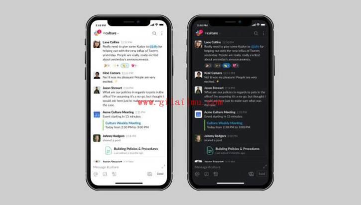 Cara Mengaktifkan Mode Gelap (dark mode) Slack di Android dan iOS