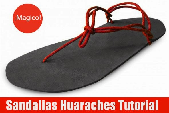 sandalias, Huaraches, manualidades, técnicas, tutoriales, accesorios