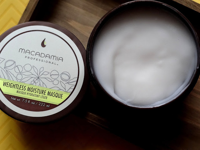Macadamia Professional Weightless Moisture Masque Review, Photos