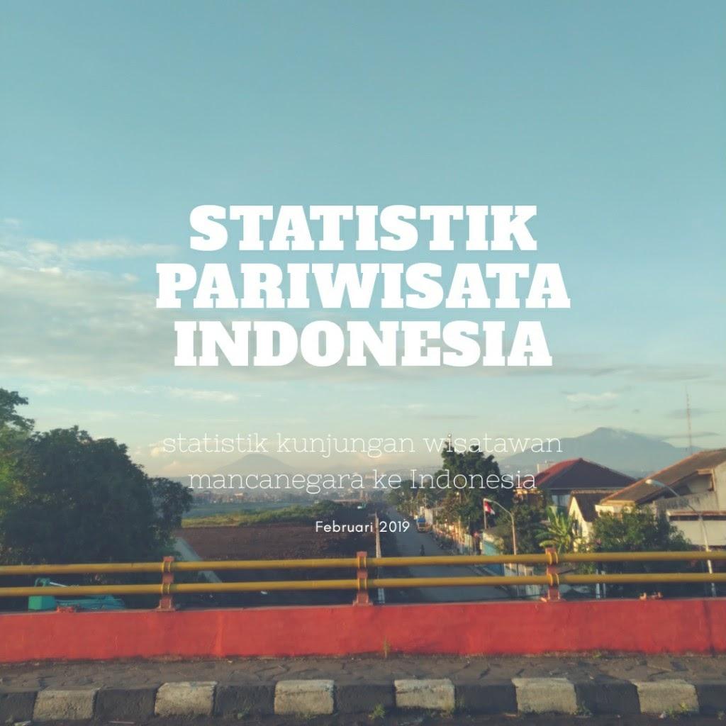 [Youtube] Statistik Kunjungan Wisatawan Mancanegara yang Datang ke Indonesia Tahun 2018