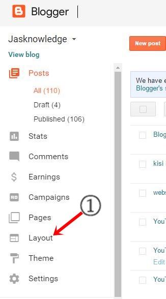html javascript kaise add kare apne blog me