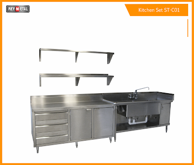 Jual Kitchen Set Murah Model Custom