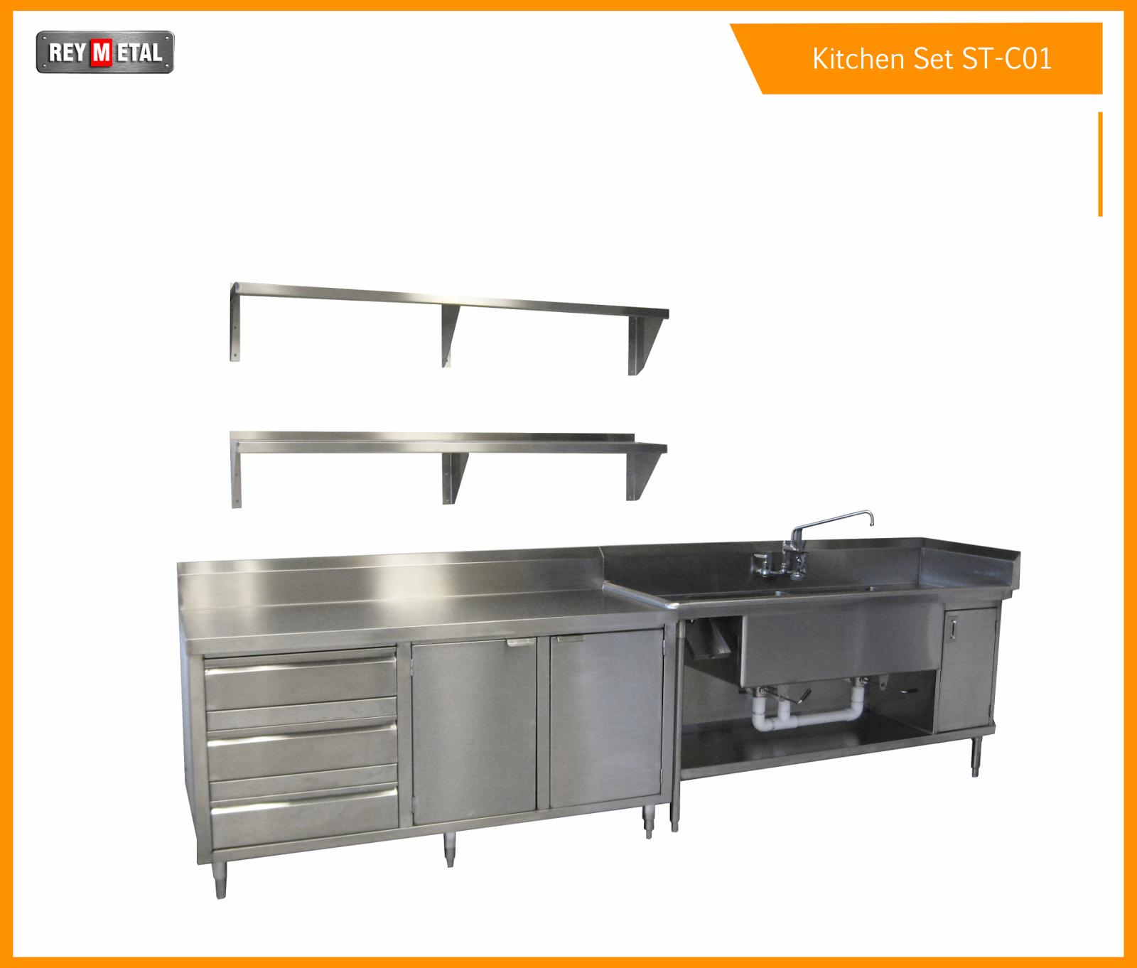 Kitchen Set Stainless Steel Murah: Jual Meja Stainless Murah Dan Bagus Untuk Dapur