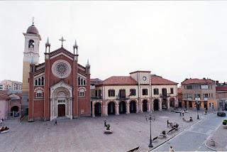 Piazza Umberto I in Orbassano