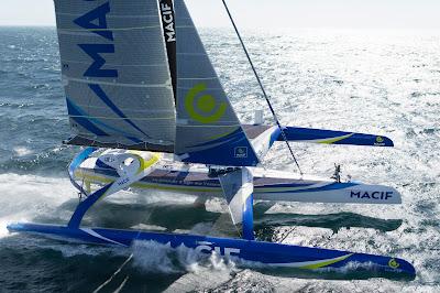 Macif de François Gabart sera au départ du Tour du Monde en 2019