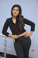 Neha Deshpandey in Black Jeans and Crop Top Cute Pics Must see ~  Exclusive Galleries 007.jpg