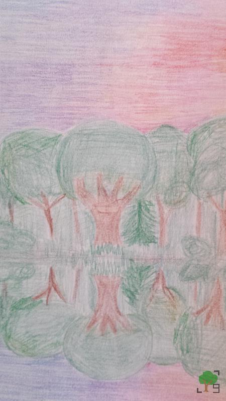 Kat, metal, muzyka, religia, wiara, drzewa z oczami, rysunek, interpretacja piosenki