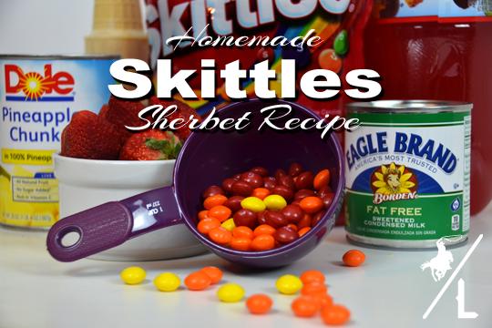 skittles sherbet recipe