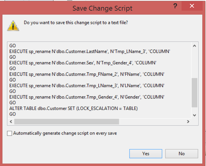 how to change column in sql server