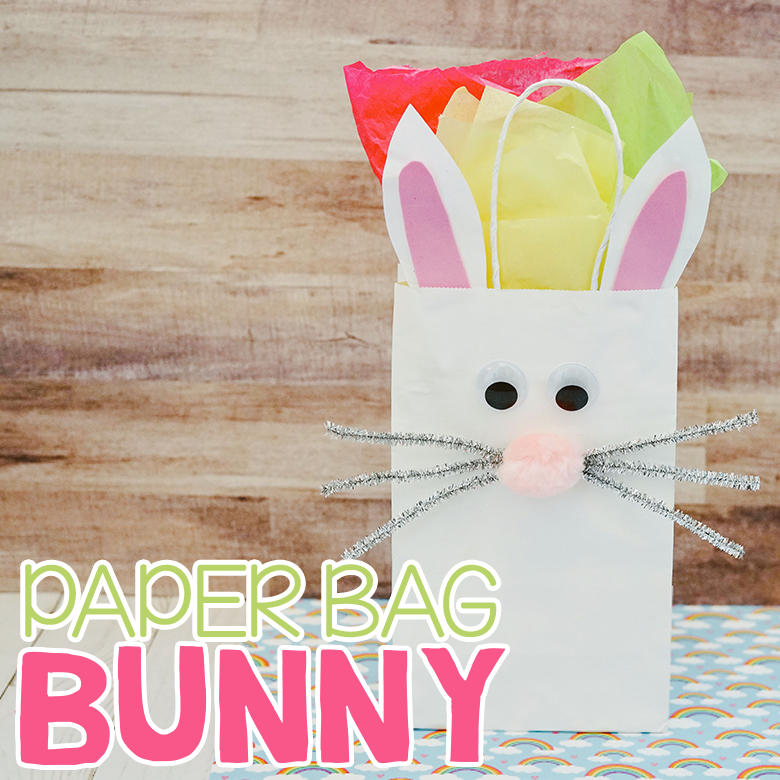 Paper Bag Bunny Craft