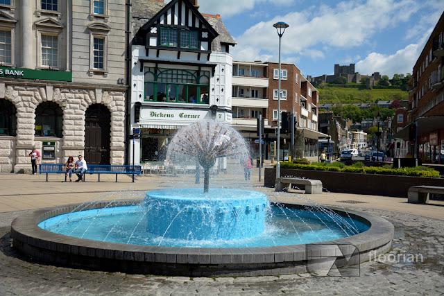 Fontanna w Dover, Kent - centrum maista i atrakcje turystyczne