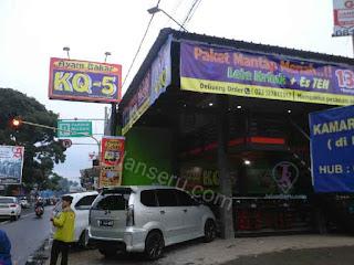 Empuknya Ayam Bakar KQ-5 Lembang Bandung