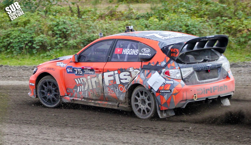 David Higgins' DirtFish WRX