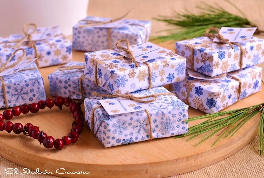 Regalos Navidad jabones naturales artesanales