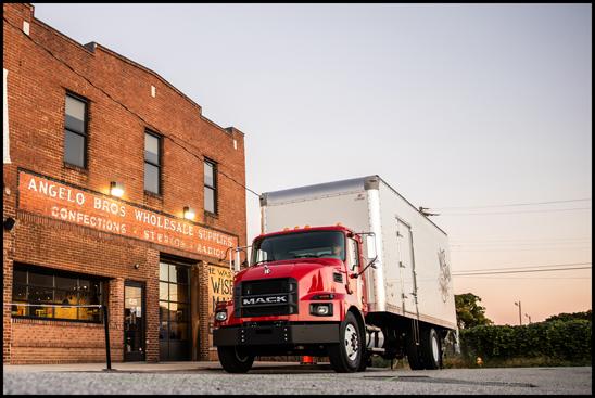 Mack Trucks new MD Series Medium-Duty truck