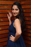 Radhika Mehrotra in a Deep neck Sleeveless Blue Dress at Mirchi Music Awards South 2017 ~  Exclusive Celebrities Galleries 022.jpg
