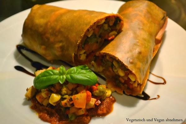 Gemüsestrudel Vegan
