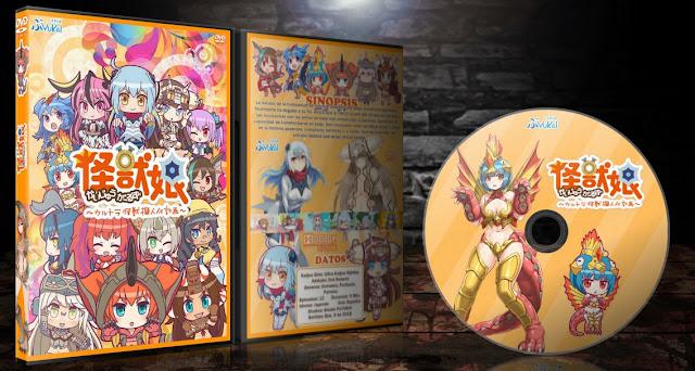Kaijuu Girls Ultra Kaijuu Gijinka Keikaku 2nd Season | Cover DVD |