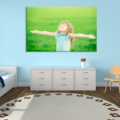 Girl Picture On Canvas
