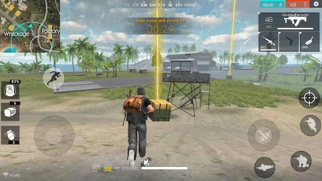 Cara Mengambil Senjata