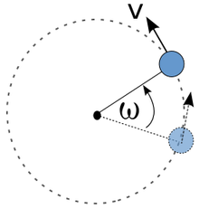 الحركة الدائرية المنتظمة
