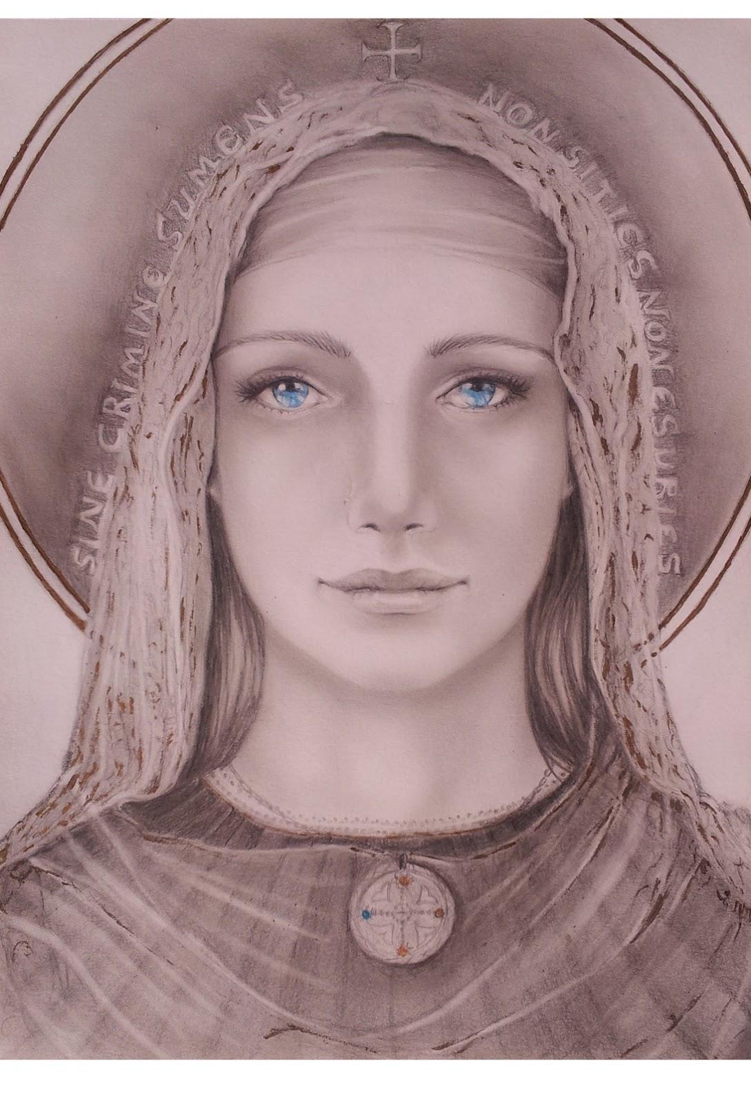 Marina Castellan Studio Per Madonna Dei Templari