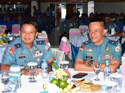 Nurri Andrianis Djatmika dan Ipung Purwadi Gelar Exit Briefing Komandan Lantamal X