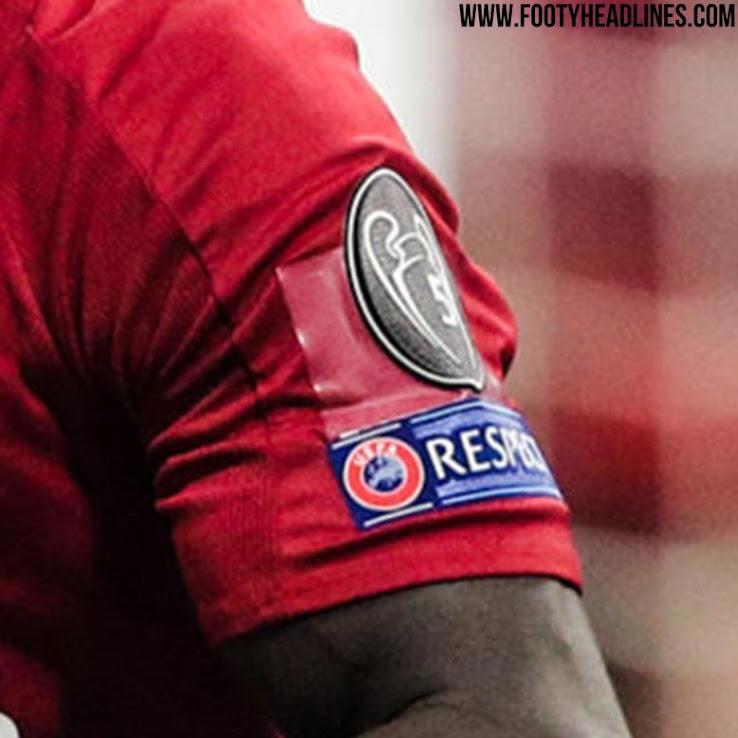 brand new 79fb4 5ed8a Revealed: Liverpool Used Tape To Hide Sponsor Logo UEFA ...