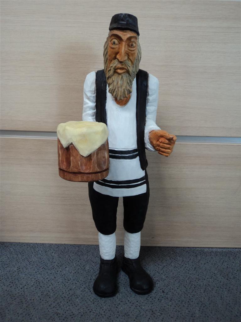 Rzeźba W Drewnie Rzeźba Żydzi