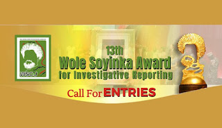 Apply for Wole Soyinka Award for Investigative Reporting [13th Edition]