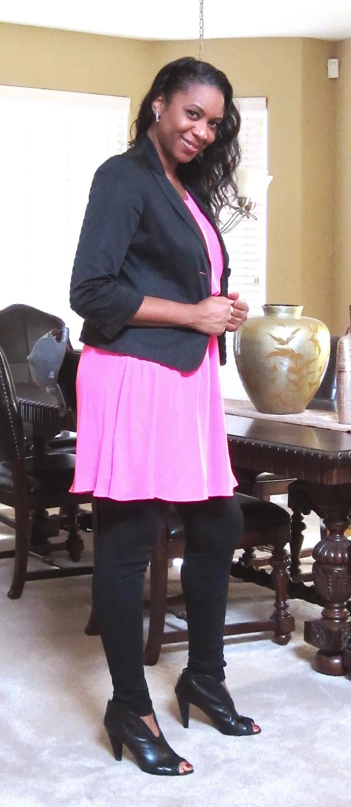 Brownskinmaven Color Me Barbie Pink Cropped Jacket