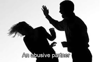 An abusive partner