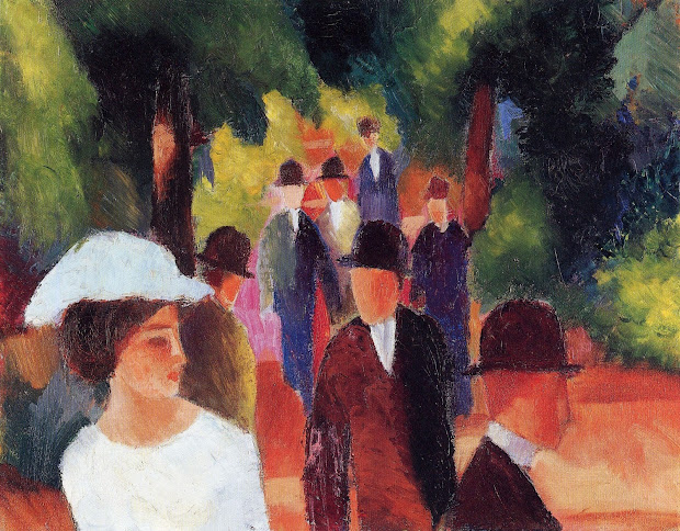 Expressionism August Macke Paintings