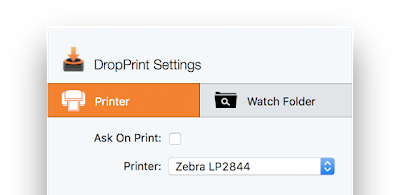 Print ZPL and EPL files on Mac OS