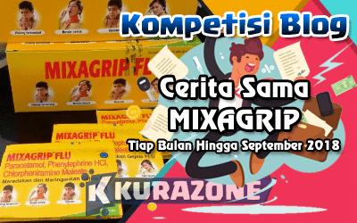 Kompetisi Blog - Cerita Sama Mixagrip Berhadiah Voucher Belanja Tiap Bulannya