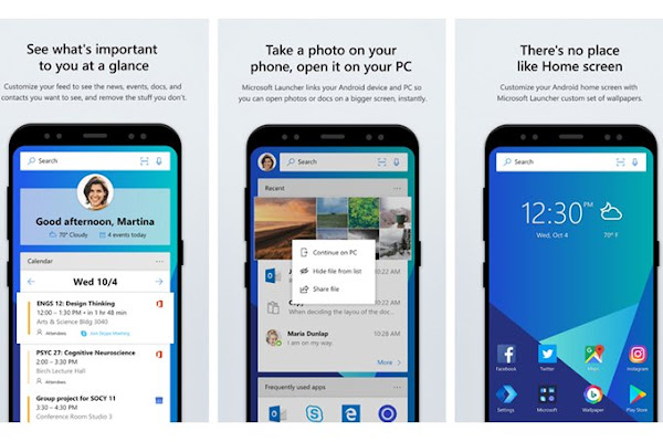 Microsoft Launcher for Android (beta) 4.12