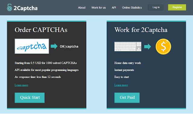 2Captcha Kerja Resolve (Captcha)