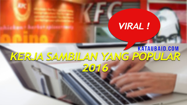 8 KERJA SAMBILAN PALING POPULAR UNTUK TAHUN 2016