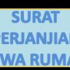 Contoh Surat Perjanjian Kontrak Sewa Rumah Beserta Peraturan Pasal Ayat Undang-undang