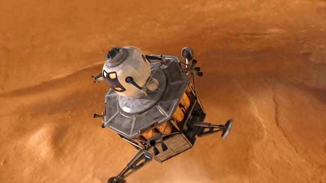 Journey to Space image - Mars landing