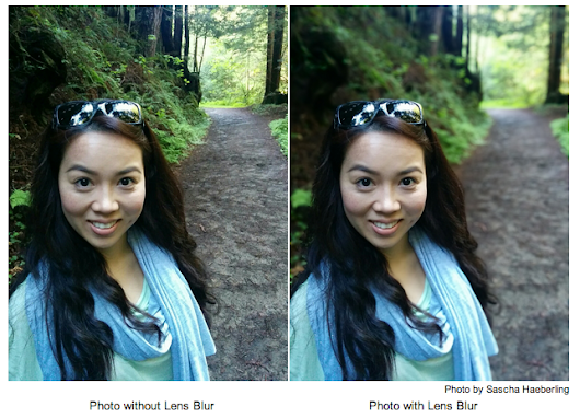 Lens Blur in the new Google Camera app
