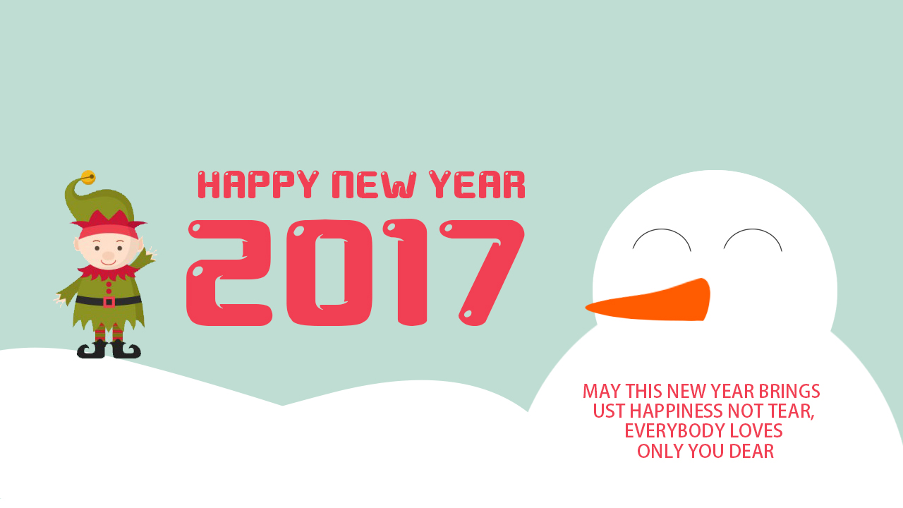 Happy New Year 2017 SMS Messages