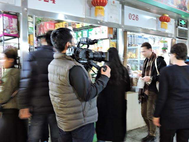 Fête de la francophonie - Résidence de pâtisserie en Chine - cours de chinois et découverte d'un marché à Pékin