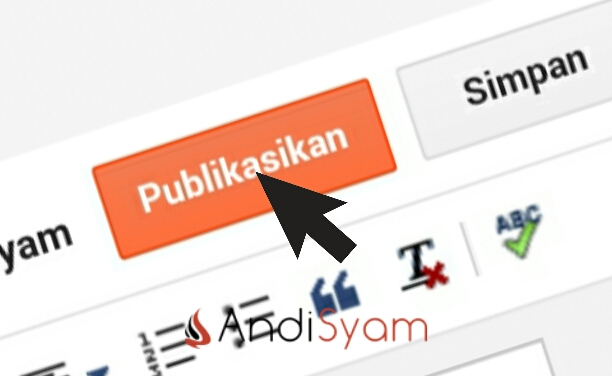 update posting blog publish blogger blogspot