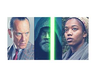 Star Wars 9 apporte Richard E. Grant et Naomi Ackie