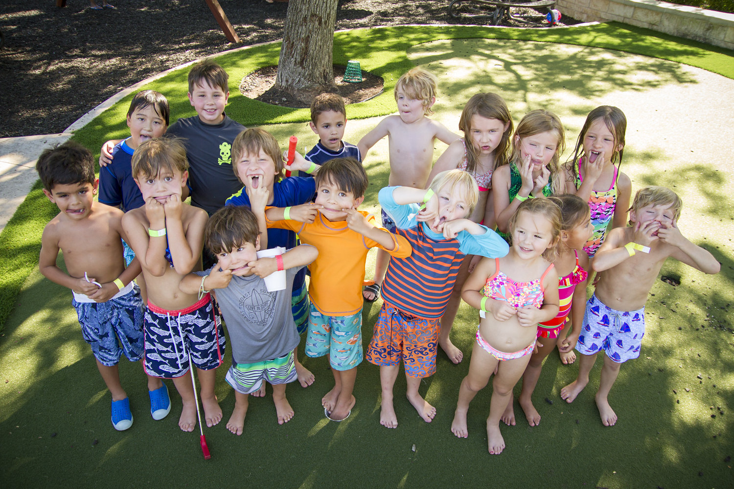 Northwood Country Club Dallas TX Birthday Party Cade Turns 5